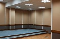 Реальный вид смонтированных стеновых панелей ISOFON