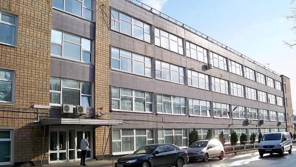 Офис компании РИВА на улице Вольная, 39